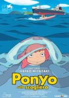 Ponyo Sulla Scogliera Poster 70x100