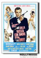 Poster 007 dalla Russia con amore