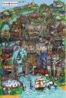 Poster Arte Disegno di Londra