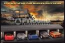 Poster Auto Ferrari Porche Lamborghini Elicottero justification
