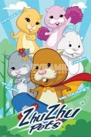 Poster Bambini Zhu Zhu Pets Gruppo