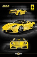 Poster Cars Auto Ferrari 16M Scuderia Spider