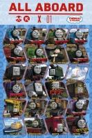 Poster Cartoons Trenino Thomas treni Tutti i Personaggi