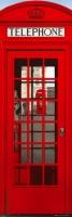 Poster Città Londra Cabina del Telefono DOOR POSTER