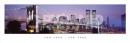 Poster Città New York Torri Gemelle Luci SLIM POSTER