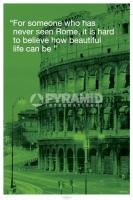 Poster Città Roma Colosseo