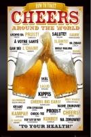 Poster Come Brindare nel Mondo Birra Pub Birreria