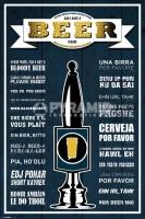 Poster Come Ordinare una Birra Pub Birreria