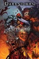 Poster Comic Book Art Darksiders