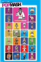 Poster Divertenti Musica Popmash Personaggi Famosi