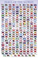 Poster Educativi e Scolastici Bandiere del Mondo