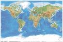 Poster Educativi e Scolastici Mappa Geografica del Mondo