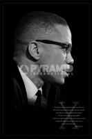 Poster Fotografico Malcolm X Brotherhood Discorso sulla Fratella