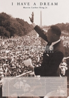 Poster Fotografico Martin Luther King I have a Dream