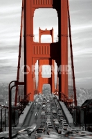 Poster Fotografico Il Golden Gate Bridge di San Francisco