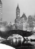 Poster Fotografico New York Manhattan Central Park 1961