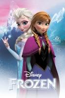 Poster Frozen Anna e Elsa Disney