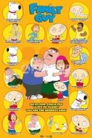 Poster Fumetti Cartoons I Griffin Personaggi e Citazioni III