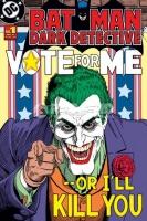 Poster Fumetti Cartoni Animati Batman Dark Detective Jocker DC C