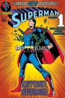 Poster Fumetti Cartoni Animati Superman Prima Copertina Fumetto