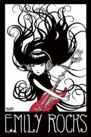 Poster Fumetti Emily The Strange Chitarra e Cuffie