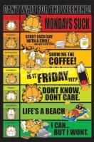 Poster Fumetti e Cartoni Animati Garfield di Jim Davis I Giorni