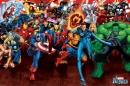 Poster Fumetto Eroi Marvel Tutti i Personaggi