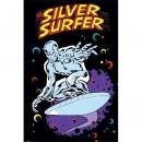 Poster Fumetto Silver Surfer Marvel Vintage