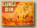Poster Gunga Din Ristampa da collezione