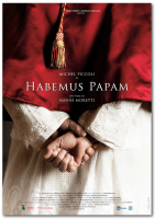 Poster Habemus Papam Nanni Moretti film CINEMA 100X140