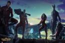 Poster I Guardiani della Galassia Marvel