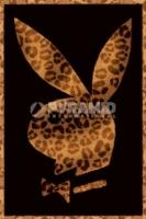 Poster LOGO Coniglio Playboy Leopardo