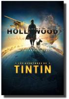 Poster Le avventure di Tintin Spielberg Globe Teaser 61x91,5 cm/