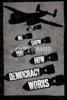 Poster Lifestyle Aereo Militare Le Bombe della Democrazia