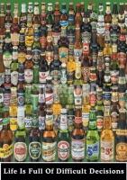 Poster Lifestyle Pub Bottiglie di Birra