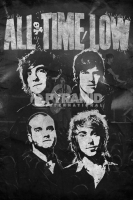 Poster Musica All Time Low Dipinto