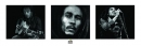 Poster Musica Bob Marley Bianco e Nero SLIM POSTER