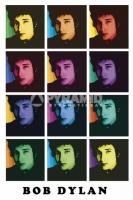 Poster Musica Bob Dylan Pop Art Style