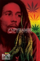 Poster Musica Bob Marley Dreads