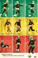 Poster Musica Bob Marley Football