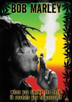 Poster Musica Bob Marley Herb