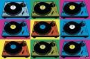Poster Musica Console Steez Pop Art