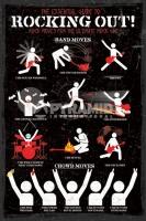 Poster Musica Come essere una vera star del Rock Rocking Out