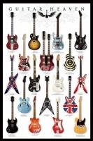Poster Musica Il Paradiso delle Chitarre Famose