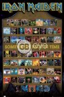 Poster Musica Iron Maiden Copertine Album