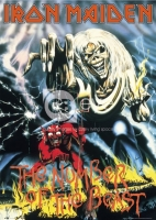 Poster Musica Iron Maiden The Number of the Beast