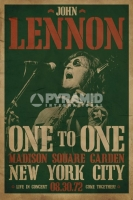Poster Musica John Lennon in Concert Madison Square Garden 1972