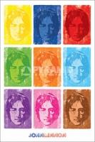 Poster Musica John Lennon Stile Pop Art
