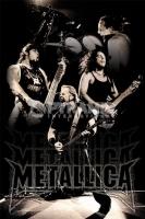 Poster Musica Metallica Bianco e Nero