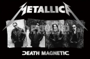 Poster Musica Metallica Death Magnetic